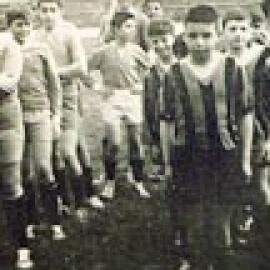 Due formazioni sandonatesi ad un torneo nel 1960