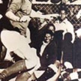 Adriano Fedrigo in Nazionale a Port Elizabeth, Sudafrica, nel 1973